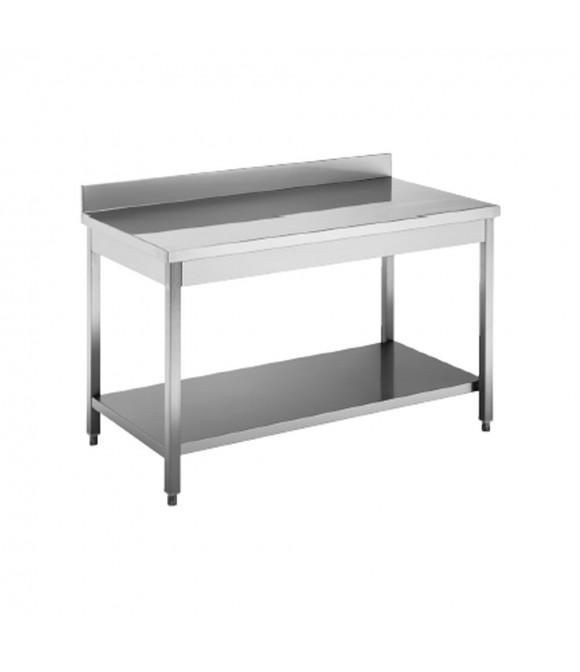 attrezzatura cucina professionale usata: tavolo acciaio inox