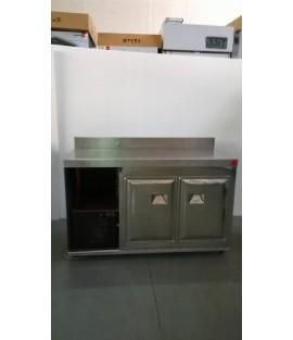 Retrobase refrigerato 2 porte negativo cm. 150