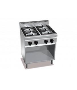 Cucina Bertos 4 fuochi