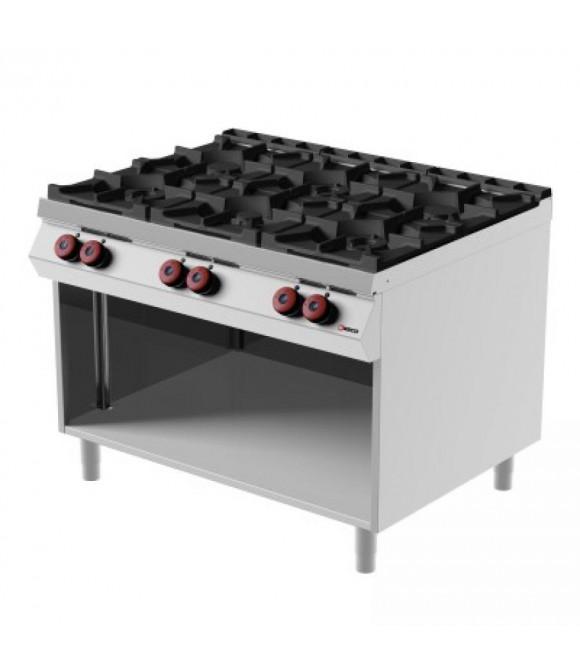 Cottura > Sistemi di Cottura > Cucina 6 fuochi marca Desco